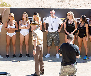 This time on Brazzers House, it's a rude awakening as the ladies of Team Keiran and Team Nikki are subjected to a brutal obstacle course! See the tits bounce and the booties jiggle as those sexy starlets contort themselves into crazy positions trying to make sure their team comes out on top! Meanwhile, Kaylani Lei and Romi Rain take Brick Danger aside for an amazing threesome away from the prying eyes of their competition. Come for the challenge, but stay for the action as Romi's big tits and Kaylani's incredible tight ass are fucked to perfection in the latest episode of Brazzers House!
