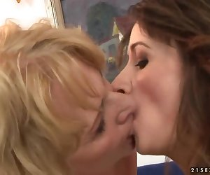 Watch the cool and so wonderful-looking porn scene with young and mature lesbian chicks who would make your penis hard fast. See everything what women are doing here!